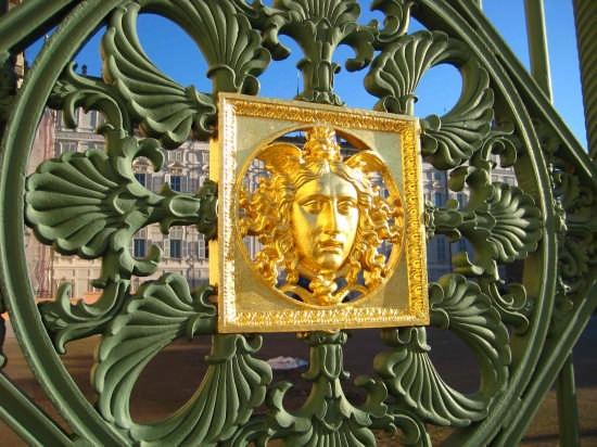 Torino - Cancellata Palazzo Reale (3194 clic)