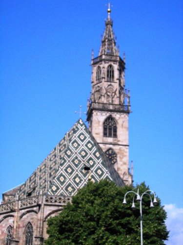 Foto del Duomo di Bolzano (7567 clic)