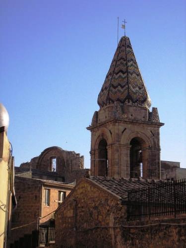 la cupola della Chiesa del Signore dell'Olmo - Mazzarino (4632 clic)