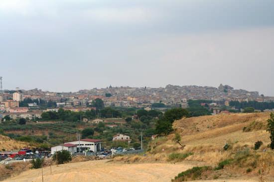 Panorama - Mazzarino (3986 clic)