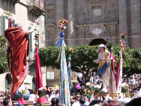 Domenica di Pasqua - Mazzarino (5467 clic)