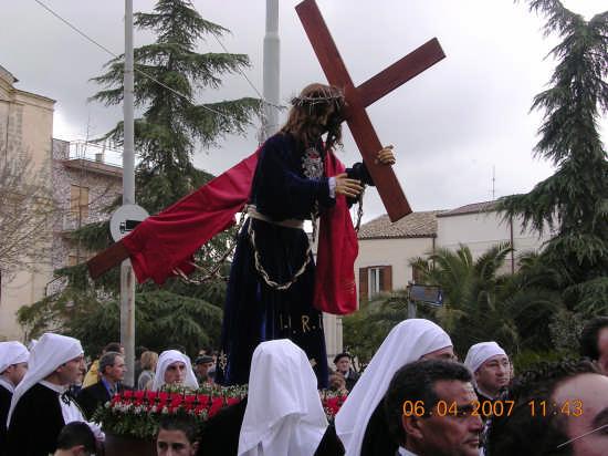 Venerdi Santo a Mazzarino (3326 clic)