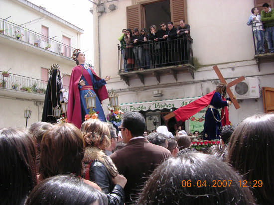 Venerdi Santo a Mazzarino (2957 clic)