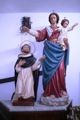 San Domenico e La Madonna del Rosario - Mazzarino (6351 clic)