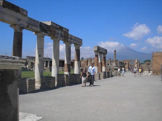 le rovine di Pompei (3518 clic)