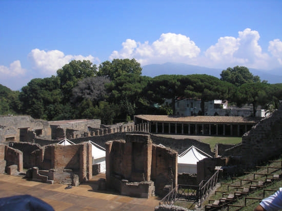 le rovine di Pompei (3107 clic)