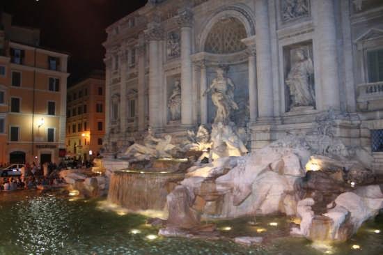 Fontana di Trevi - Roma (2230 clic)