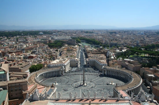 Piazza San Pietro - Roma (2693 clic)