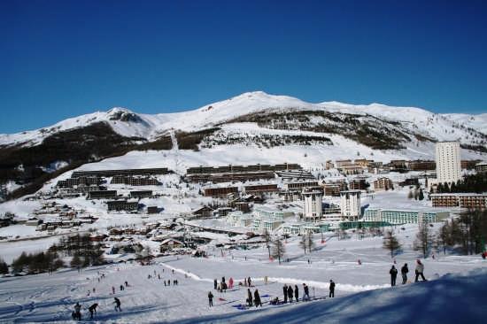Le montagne olimpiche - SESTRIERE - inserita il 08-Jan-09