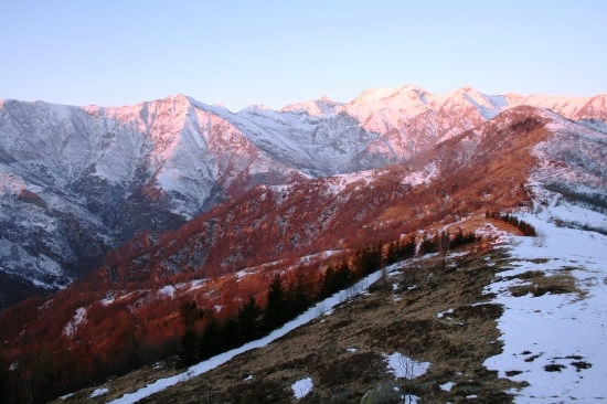 Paesaggi invernali - ANGROGNA - inserita il 22-Jan-08