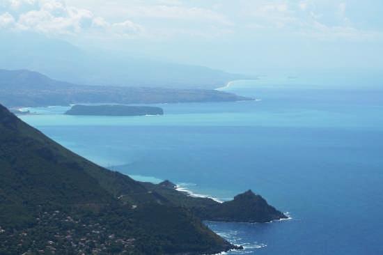 Panorama dal cristo di Maratea (PZ) (10146 clic)