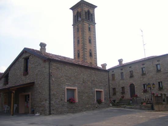 campanile Ceccati  - Corneto (1963 clic)