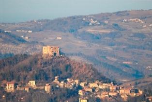 Panoramica di Zavattarello (1851 clic)