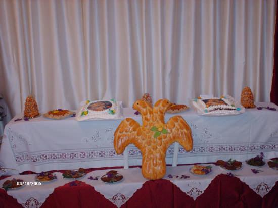 l'aquila bicipite è presente nelle tavole di S.Giuseppe - Cianciana (4111 clic)