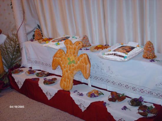 l'aquila bicipite è presente nelle tavole di S.Giuseppe - Cianciana (4192 clic)