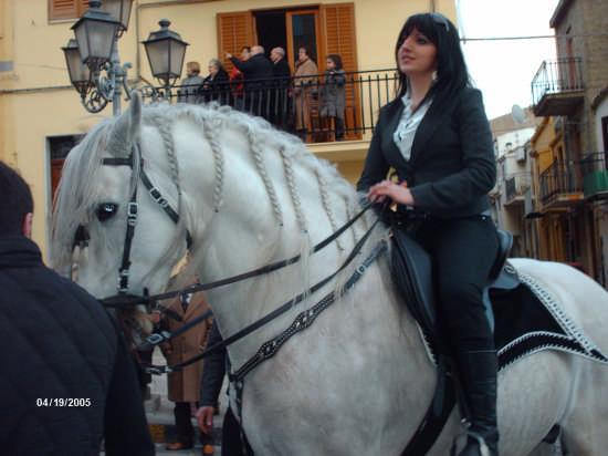 la cavalcata di S.Giuseppe - Cianciana (7063 clic)