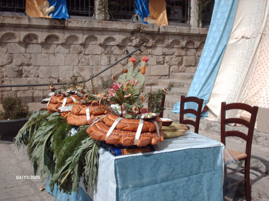 TAVOLA DI S. GIUSEPPE 19.03.09 - Cianciana (3512 clic)