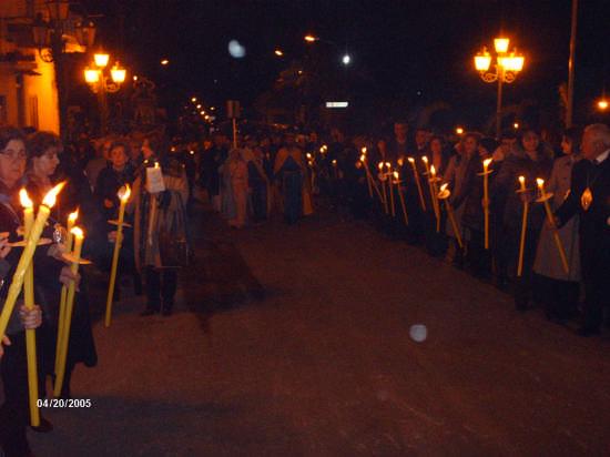 PROCESSIONE PER S. GIUSEPPE (19.03.09) - Cianciana (3039 clic)