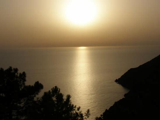 il tramonto - Portovenere (2878 clic)