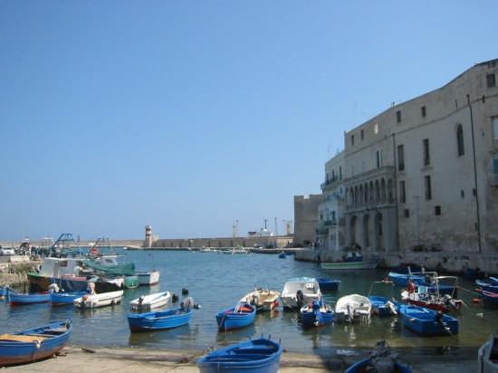 vista dal porto antico - Monopoli (4006 clic)