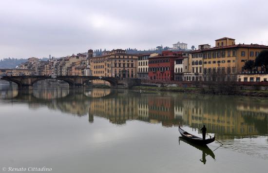 una gondola sull'Arno? - Firenze (3577 clic)