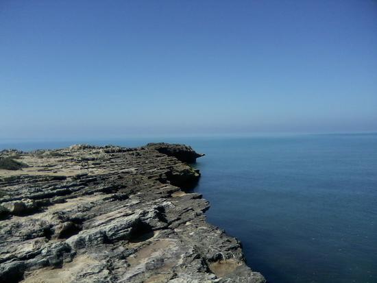 Punta Braccetto tra cielo e mare (2000 clic)