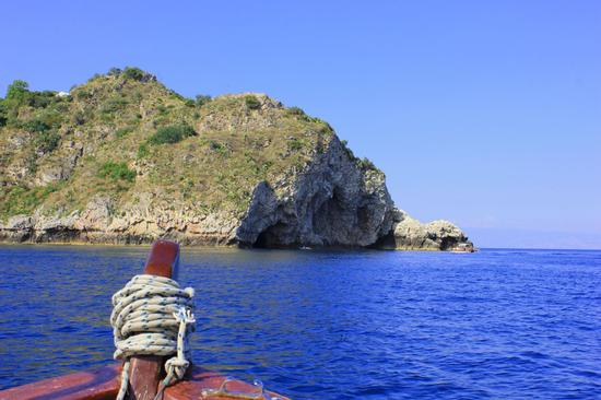 In barca - Taormina (2082 clic)