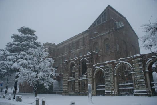 Il castello sotto la neve - RIVOLI - inserita il 20-Jan-09