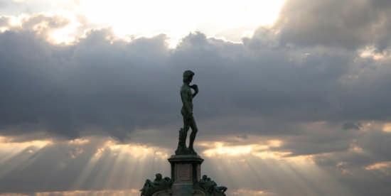 Il Davide di Michelangelo - Firenze (2065 clic)