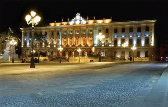 piazza italia - Sassari (4850 clic)