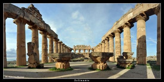 Uno sguaro a 180° - Selinunte (3501 clic)