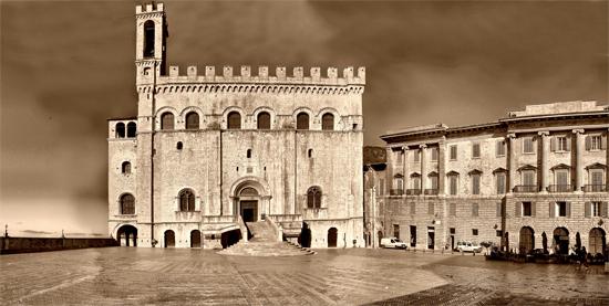 Palazzo dei Consoli - Gubbio (1312 clic)