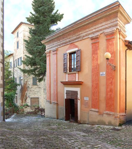 Macerata F. Teatro Gentili Belli sec XVIII - Macerata feltria (1446 clic)