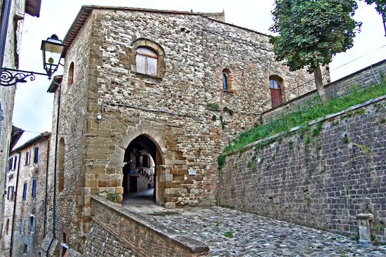 Macerata Feltria Porta di Mezzo Sec. XVI (1800 clic)