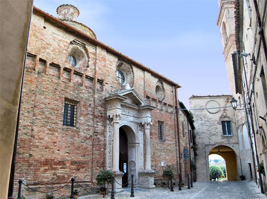 Chiesa Santa Maria Novella Orciano - Orciano di pesaro (2075 clic)