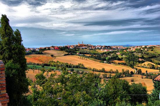 Panorama Orciano - Orciano di pesaro (1130 clic)