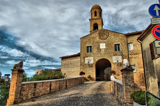 Porta Malatestiana  Sec. XIV Orciano - Orciano di pesaro (1264 clic)