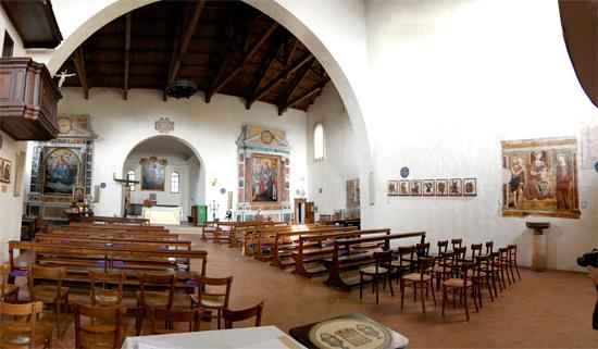 Pieve di Santo Stefano - Candelara  - Pesaro (1568 clic)