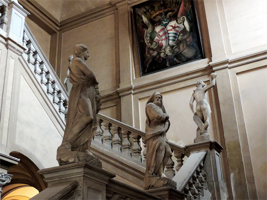 Scalone del Palazzo Montevecchio Fano (2260 clic)