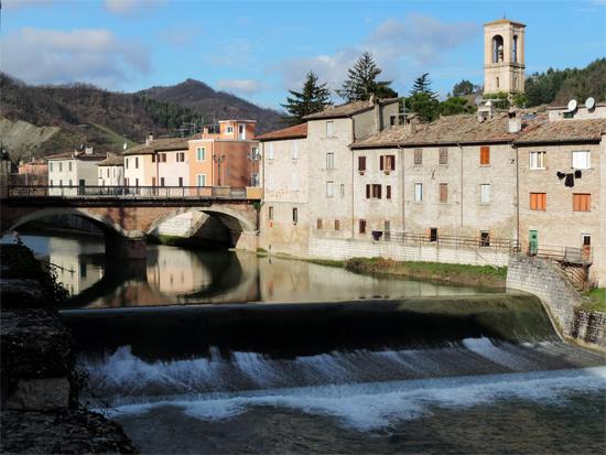 Ponte sul Metauro - Sant'angelo in vado (1144 clic)