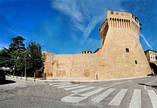 Rocca Roveresca Mondavio (442 clic)