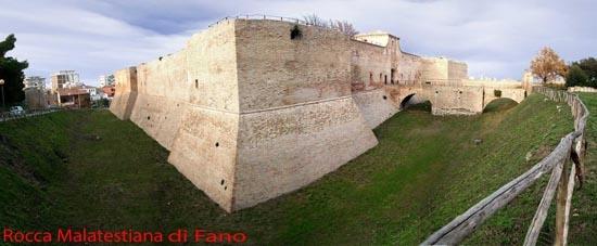 Rocca Malatestiana di Fano (4920 clic)