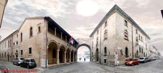 Via arco d'Augusto di Fano (5151 clic)