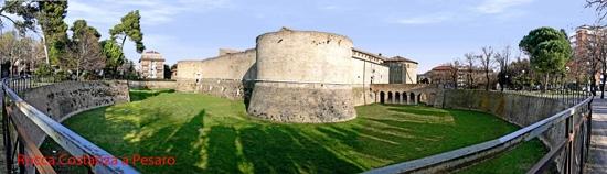 Rocca Costanza a Pesaro (2975 clic)
