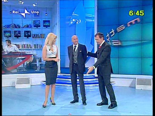 Mauro Lorini e..... UnoMattina Ottobre 2009 - Cassino (1992 clic)