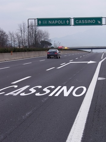 Se passi per l'A1...  devi venire a Cassino (4640 clic)