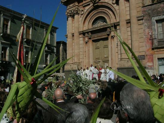 Domenica delle Palme - Biancavilla (3412 clic)