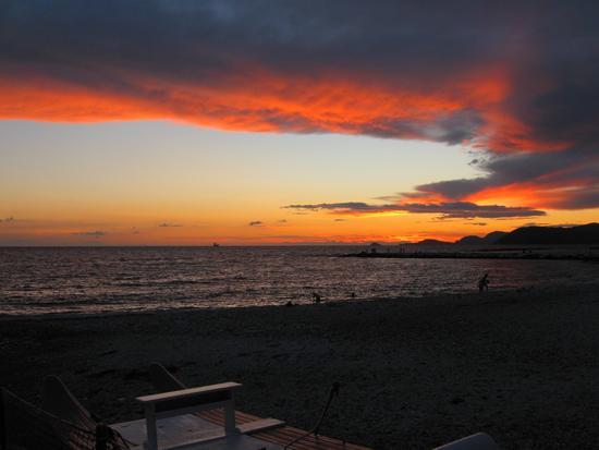 .dopo il tramonto... - Marina di massa (1398 clic)