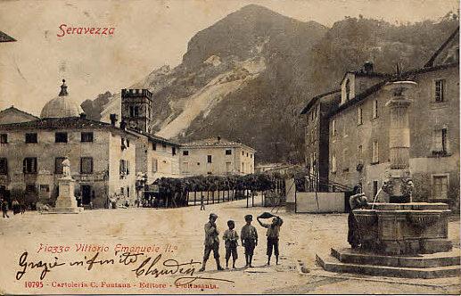 ..cartoline del passato... - Seravezza (2773 clic)