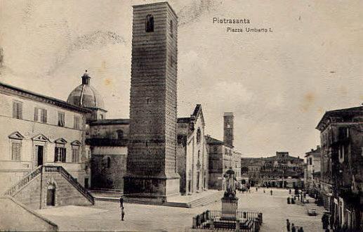 ..cartoline del passato... - PIETRASANTA - inserita il 29-Mar-13